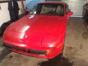 porsche 944 Porsche 944 red